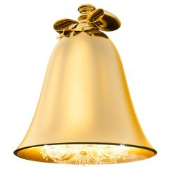 Baby Bell Chandelier Gold