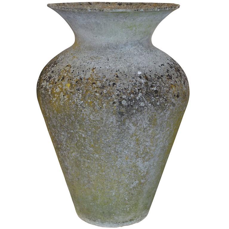 Stone urn, mid-20th century