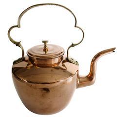 Large English Copper Teapot, circa 1820