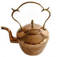 English Copper Kettle, circa 1780