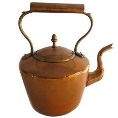 English Copper Kettle, circa 1875