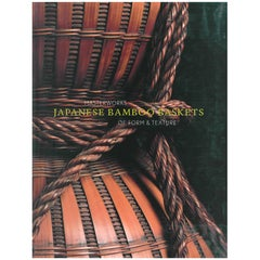 Japanese Bamboo Baskets, Masterworks of Form and Texture 'Book'