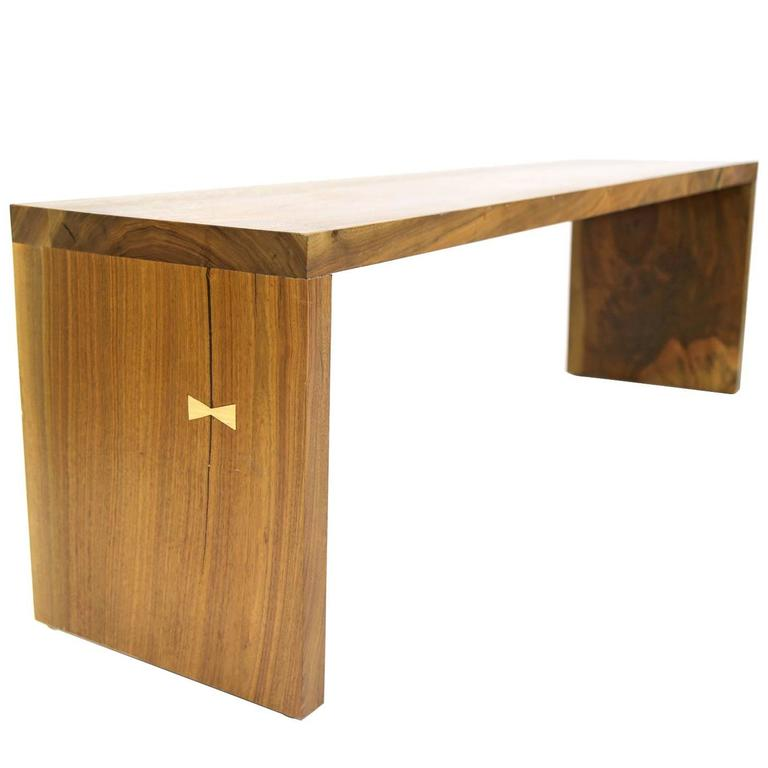 Shimna Hardwood Walnut Bench For Sale