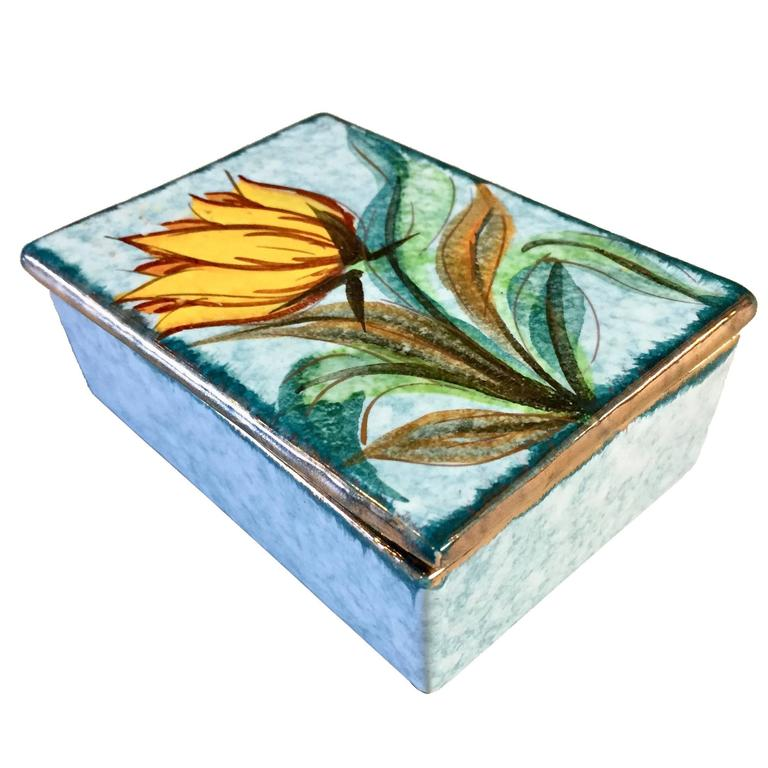 Italian Ceramic Box by Raymor