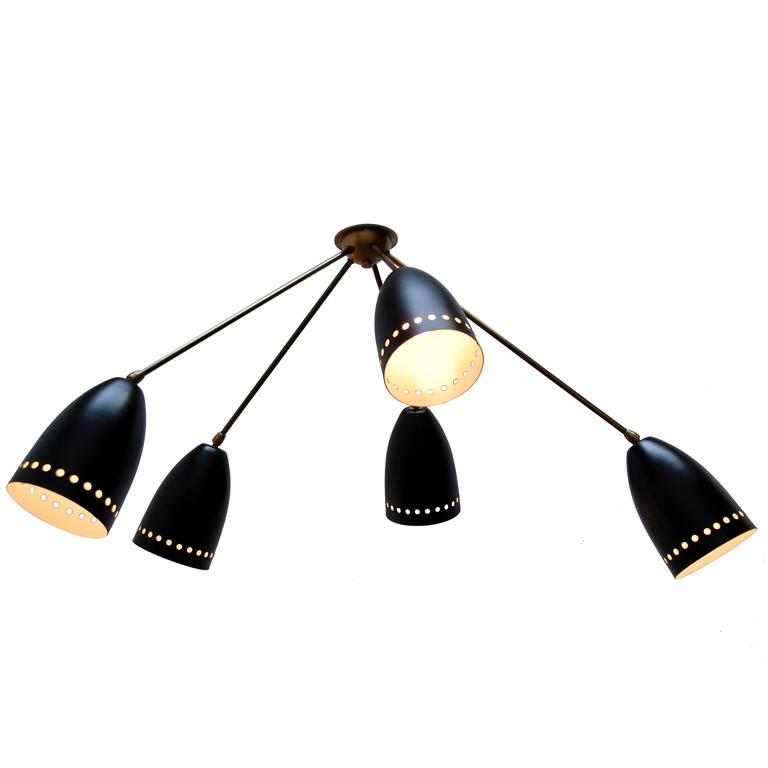 Lu Asymmetrical Flush Mount Or Chandelier For Sale At 1stdibs