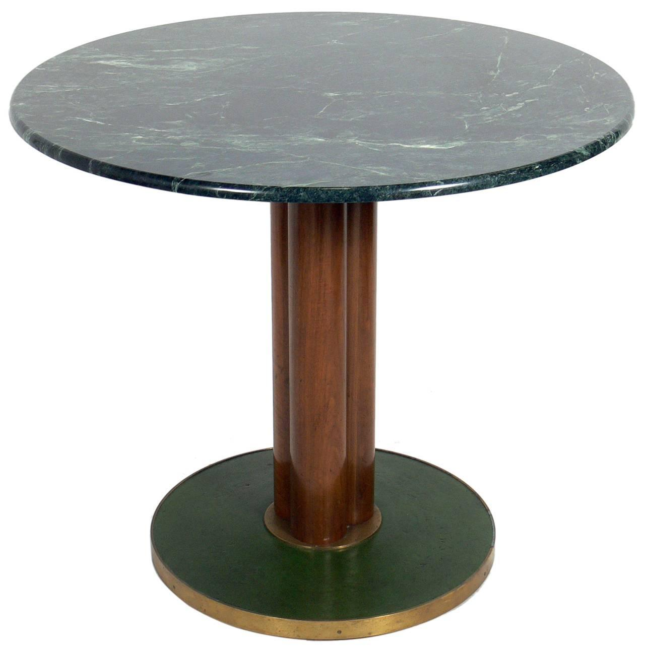 Dunbar marble top table for sale at 1stdibs for Marble table tops for sale