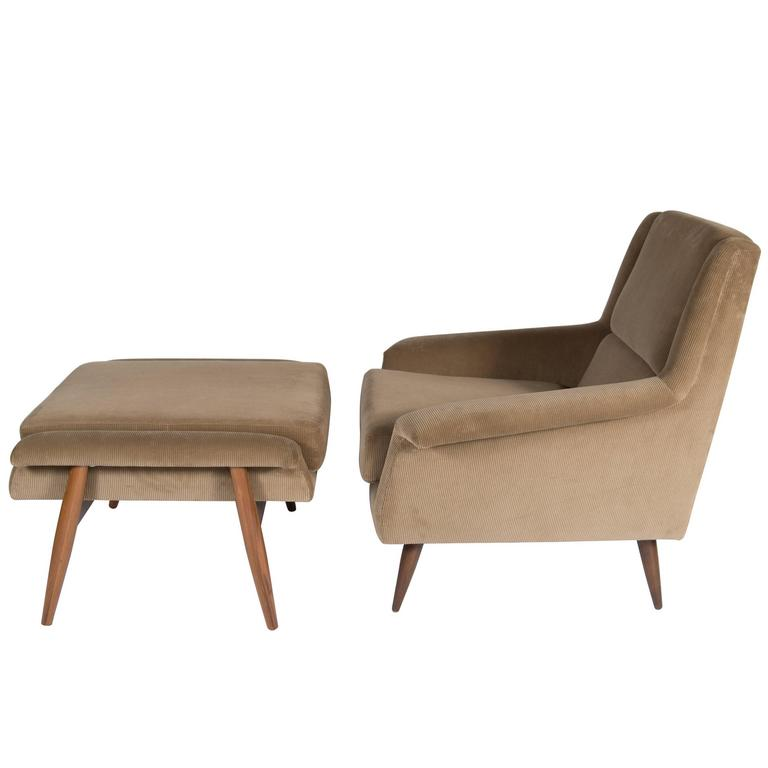 Johansson Lounge Chair and Ottoman