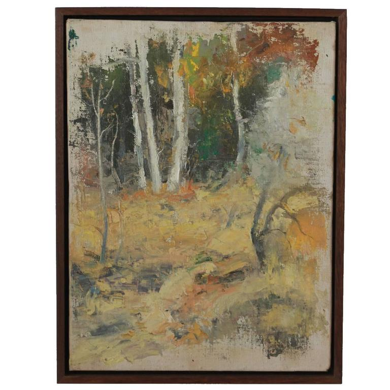 Walnut Framed California Landscape