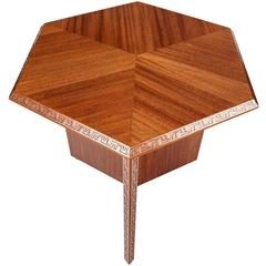 Mahogany Side Table by Frank Lloyd Wright