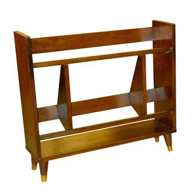 Small Modernist Book Shelf For Sale