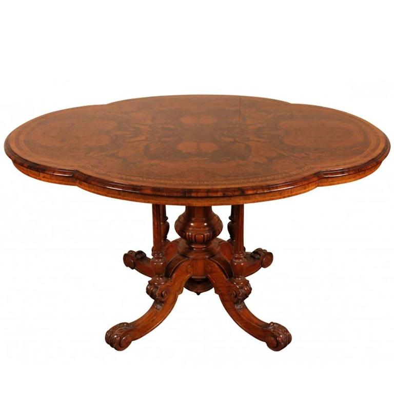 Gillow and Co. center table, 19th century