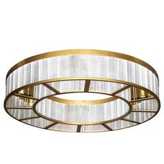 Contemporary Mount Ring Ceiling Flush Light