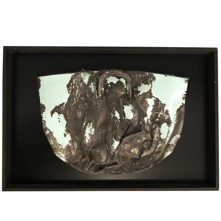 Wall Sculpture by French Artist Pierre Malbec, Contemporary For Sale