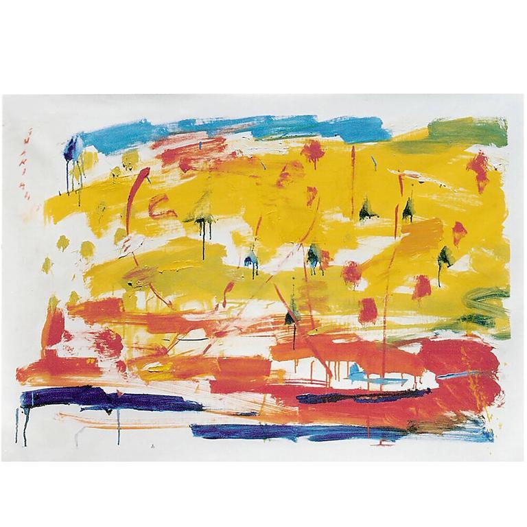 "Alejandro Avakian ""El Regreso"" Oil on Canvas"