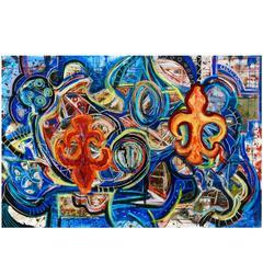 "Abstract Art Painting ""Nola"""