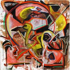"""Abstract Art Painting """"Ares"""""""