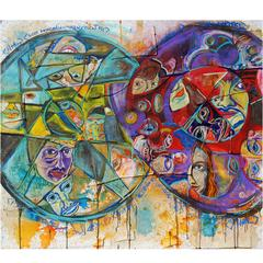 """Abstract Art Painting """"Identity"""""""