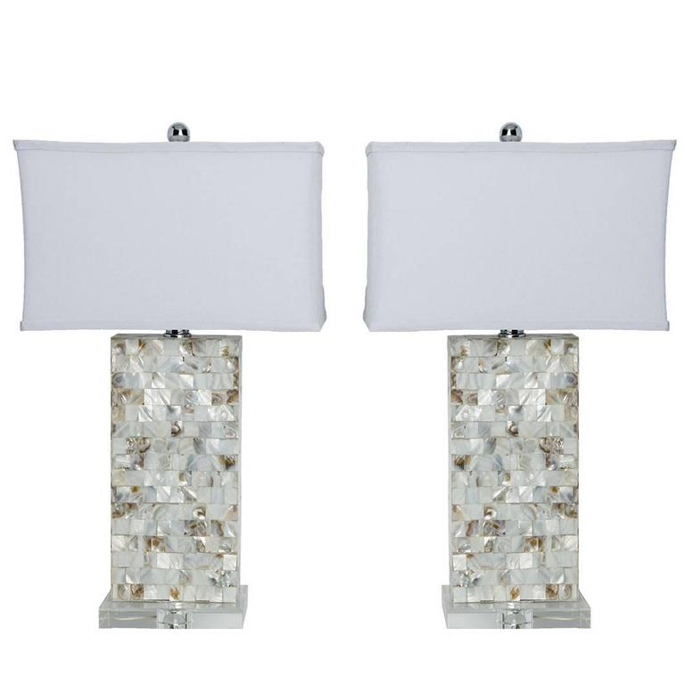 mother of pearl lamps for sale at 1stdibs. Black Bedroom Furniture Sets. Home Design Ideas