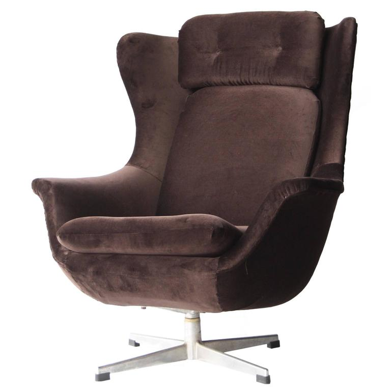 Armchair with High Back For Sale