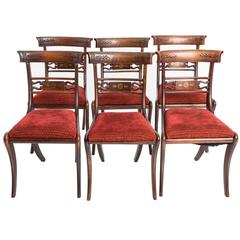 Regency Style Klismos Chairs