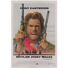Outlaw Josey Wales, US Movie Poster
