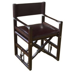 Cabourn Folding Chair in Oiled Wenge - handcrafted by Richard Wrightman Design