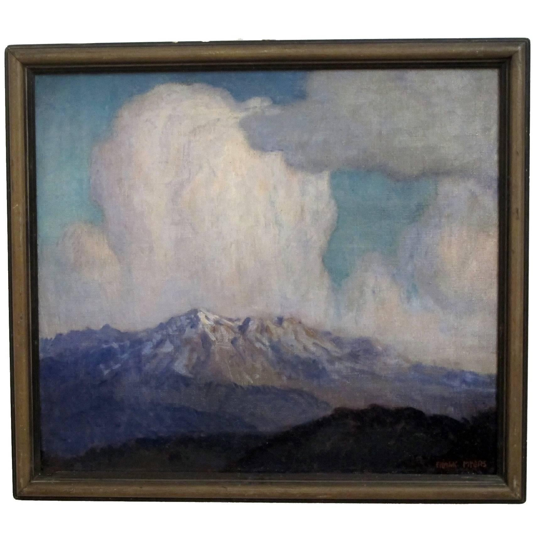 Mountain Landscape Painting by Frank Myers