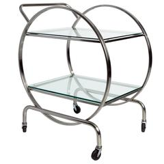 Mid-Century Modern Tea Cart