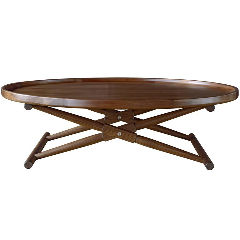 Matthiessen Coffee Table Type Three In Oiled Walnut For Sale At 1stdibs