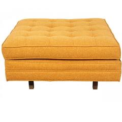 Mid-Century Tufted Vintage Ottoman by Harvey Probber