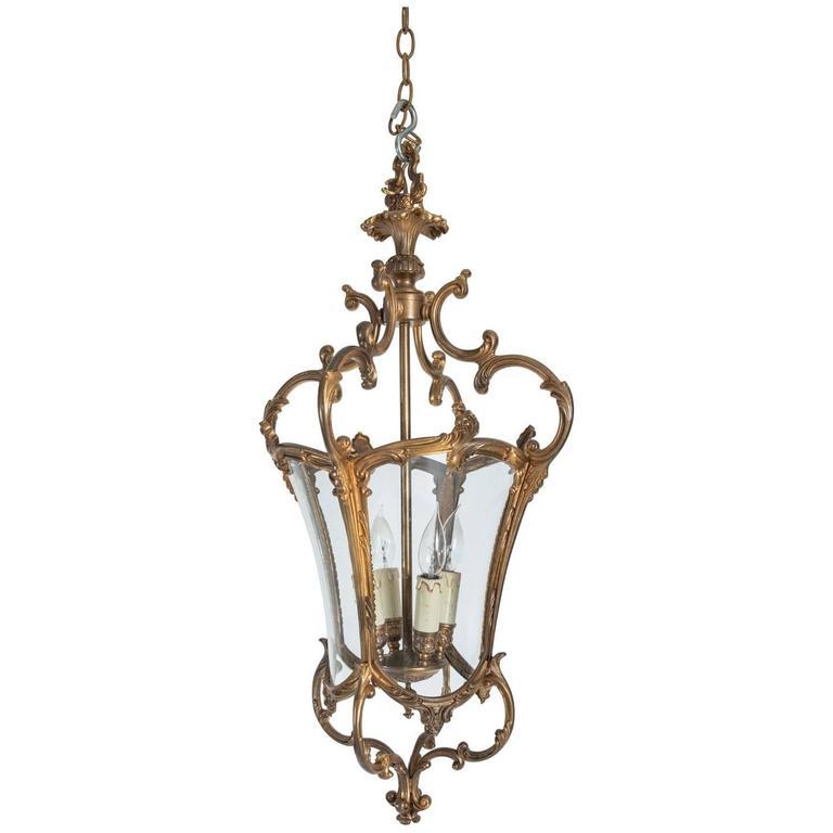 Gilt Bronze Lantern