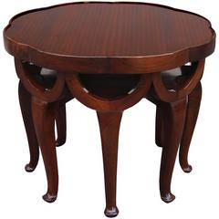 Elephant Trunk Table by Adolf Loos