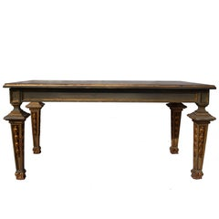 French Louis VXI Style Painted Coffee Table