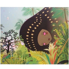 "Chiho Aoshima's ""Building Head Chameleon"" Limited Edition Signed Print"