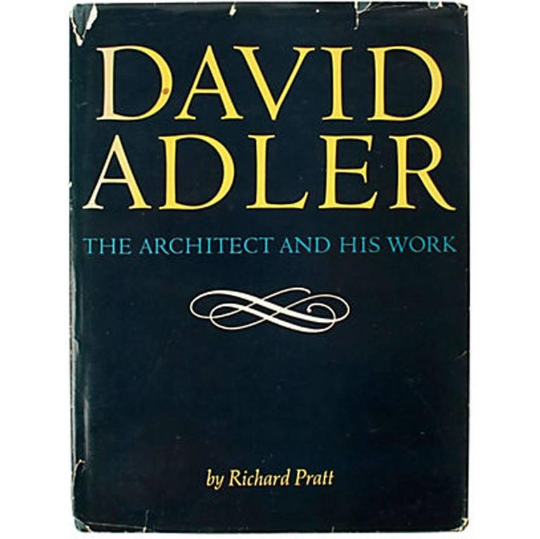 David Adler: The Architect and His Work by Ezra Stroller, First Edition Book
