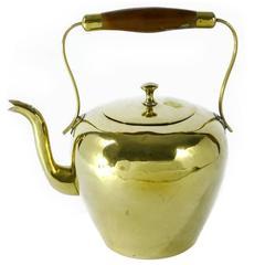 Dutch Brass Kettle, circa 1800