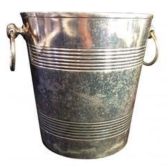 Vintage Hotel Silver Champagne Cooler from the Carlyle Hotel, NYC