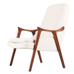 """Norwegian """"Kørnet"""" Lounge Chair for Møre Lenestolfabrikk"""