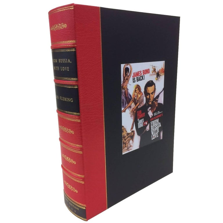 """""""From Russia with Love"""" by Ian Fleming, First Edition One-of-a-Kind Presentation"""