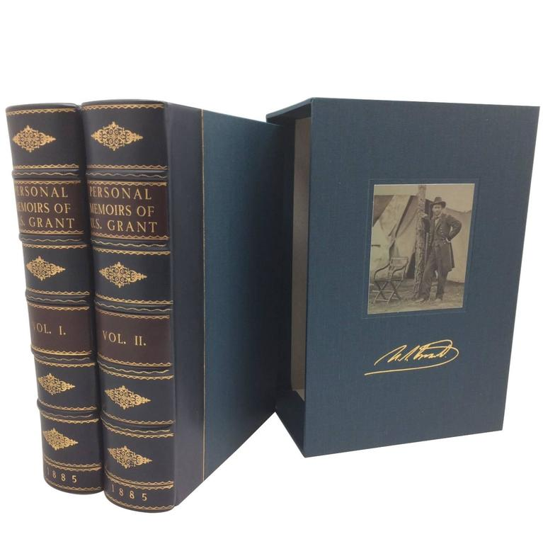 Personal Memiors of U.S. Grant, First Edition, Two Volumes ...