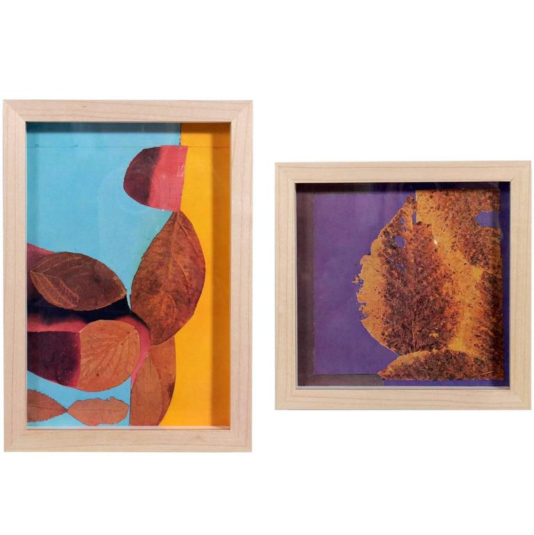 Josef Albers Abstract Leaves Lithographs From Interaction Of Color For Sale At 1stdibs