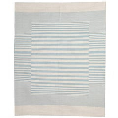Modern Striped Kilim Rugs, Persian Style Rugs, Kilims from Afghanistan