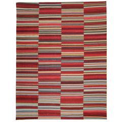 Afghan rugs, Multi coloured Kilim Rugs from Afghanistan