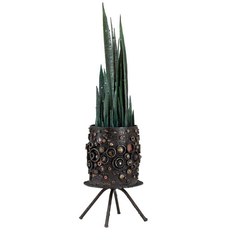 James Bearden Potted Plant Sculpture