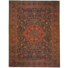 Antique Persian Khorassan Carpet
