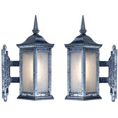 Pair of Townhouse Sconces
