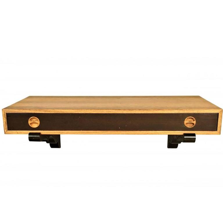 Harvey Probber Wall-Mounted Console Table