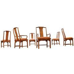 Chin Hua Century Dining Chairs, Circa 1980s