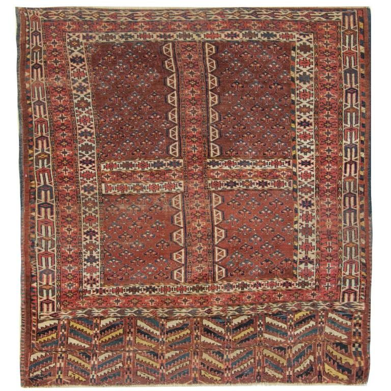 Antique Rugs, Carpet from Turkmenistan For Sale