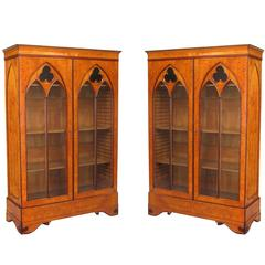 Pair of Charles X Bookcases